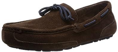 UGG Men's Chester Slip-on Loafer, Chocolate, ...