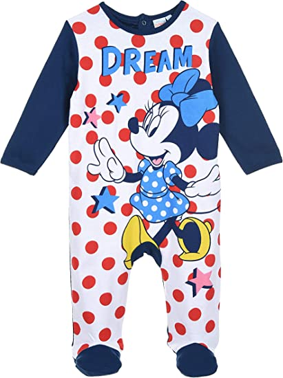 Minnie Mouse Bambina Pigiama Lungo