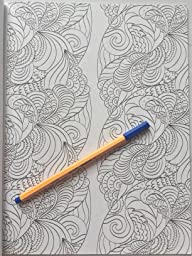 Amazon Really RELAXING Colouring Book 1 Playing With