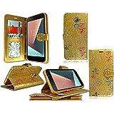 Vodafone Smart V8 mobile phone case cover luxury PU leather magnetic book flip Wallet case for Vodafone Smart V8