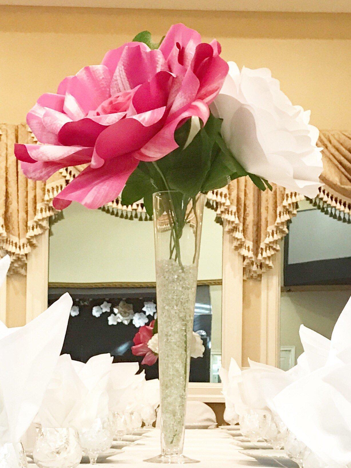 X-Large paper flower centrepiece, giant paper flower, large paper flower centrepiece, paper flower table decor
