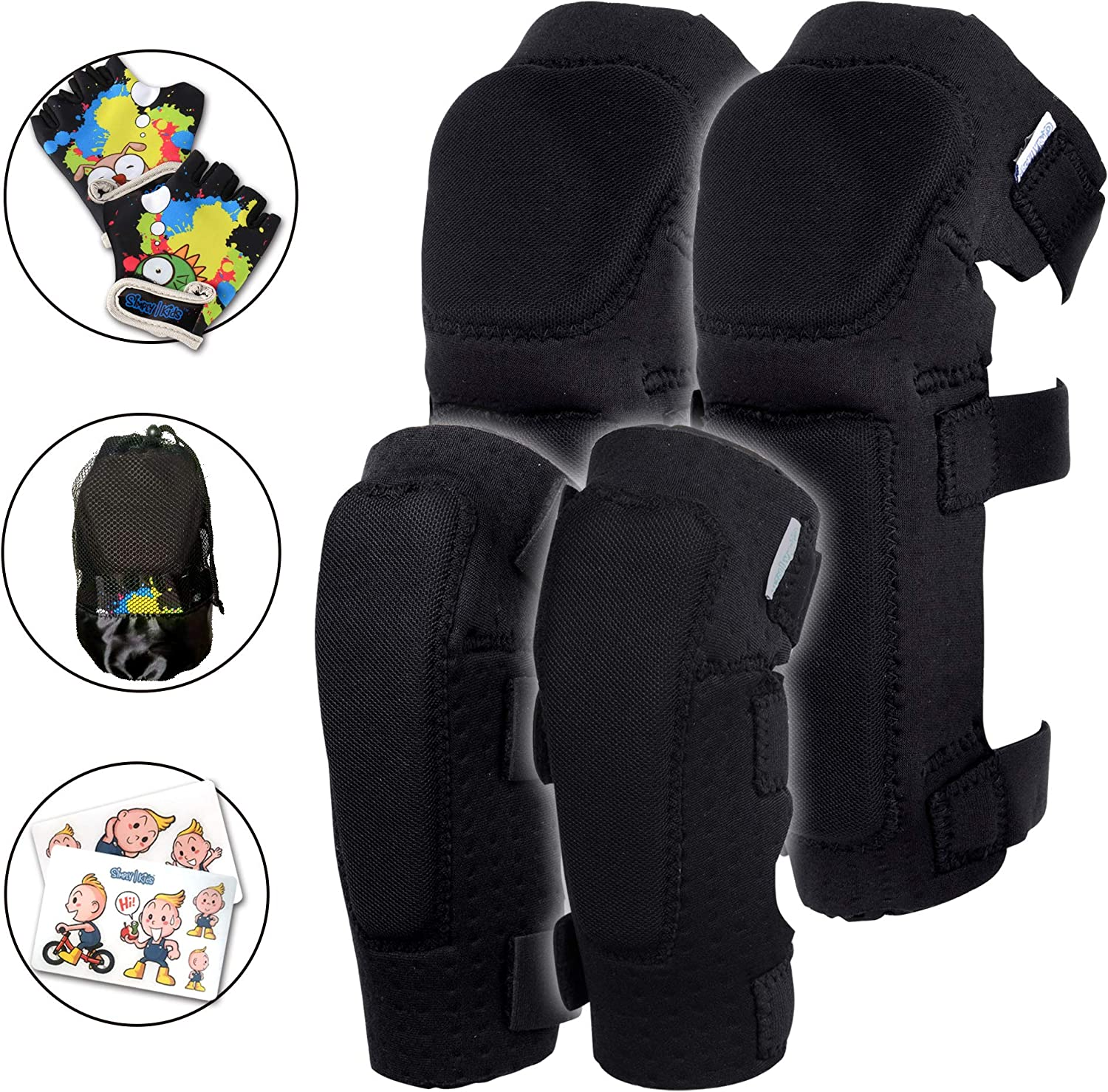 Simply Kids Soft Knee and Elbow Pads