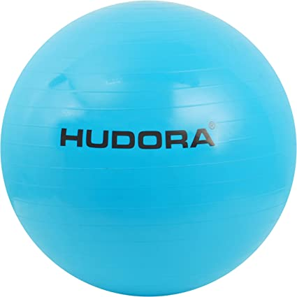 Hudora - Pelota de Gimnasia (75 cm), Color Azul: Amazon.es ...
