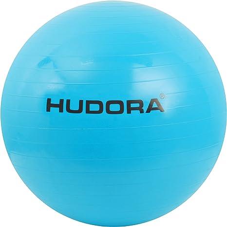 Hudora - Pelota de Gimnasia (75 cm), Color Azul: Amazon.es ...