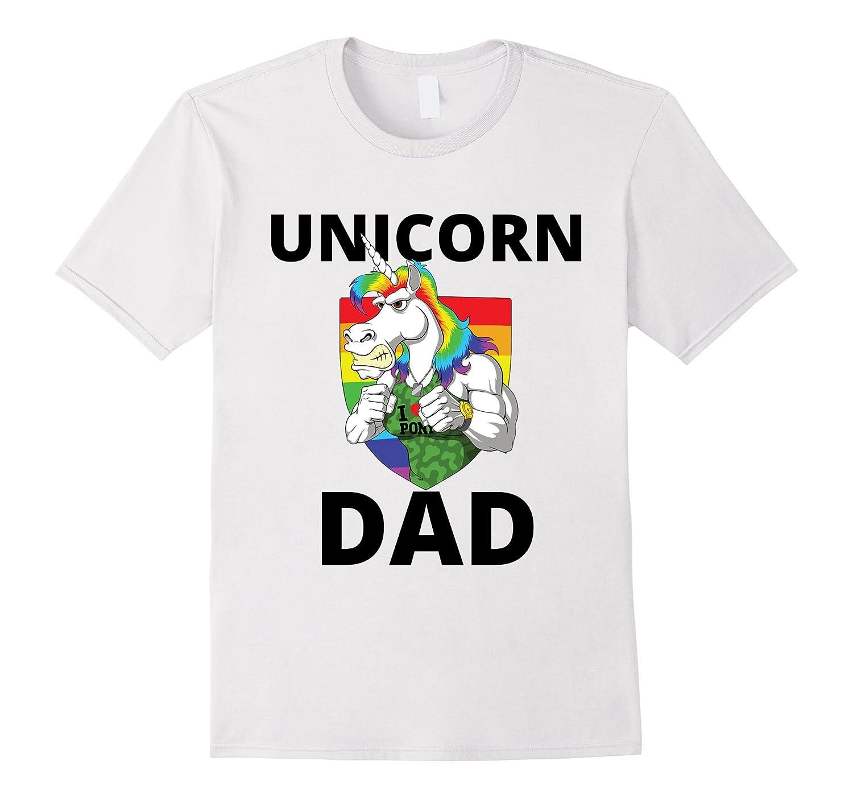 43c51188b Unicorn Dad - Funny Daddy Fatherly Gym Long Sleeve T-Shirt-alottee gift