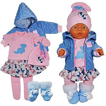 Baby Born Kleidung 4 teilig  neu gr 43 ohne Puppe Babypuppen & Zubehör