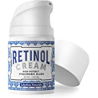 LilyAna Naturals Retinol Cream for Face - Retinol Cream, Anti Aging Cream, Retinol Moisturizer for Face, Wrinkle Cream…