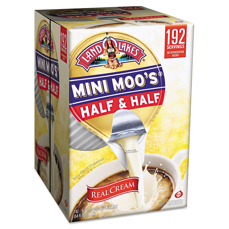 Mini Moo's Half and Half, 192/Carton, Sold as 1 Carton, 192 Each per Carton by White Wave