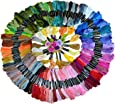 Soledi Cross Stitch Floss 150 Skeins Premium Rainbow Color Embroidery Floss Sewing Threads