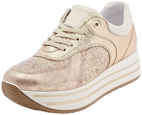 IGI&CO DKY 11556, Zapatillas para Mujer, Gris (Taupe 11), 40 EU