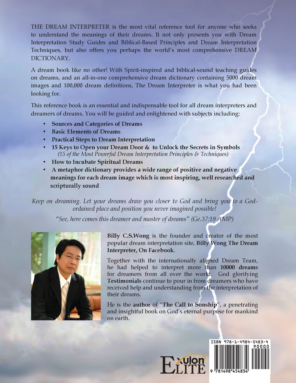 The dream interpreter billy cs wong 9781498454834 amazon the dream interpreter billy cs wong 9781498454834 amazon books biocorpaavc