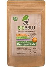 Biobalu Bienenweide | Blumenwiese | Blüten Saatgut mehrjährig | Spezielle Artenauswahl je nach Region 50g