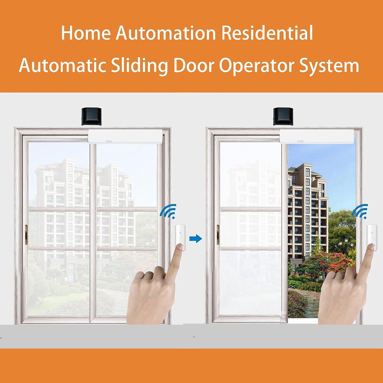 Electric Sliding Door Operator NON ROCK Automatic Sliding Door Operator,Automatic Door Opener Automatic Door Mechanism White