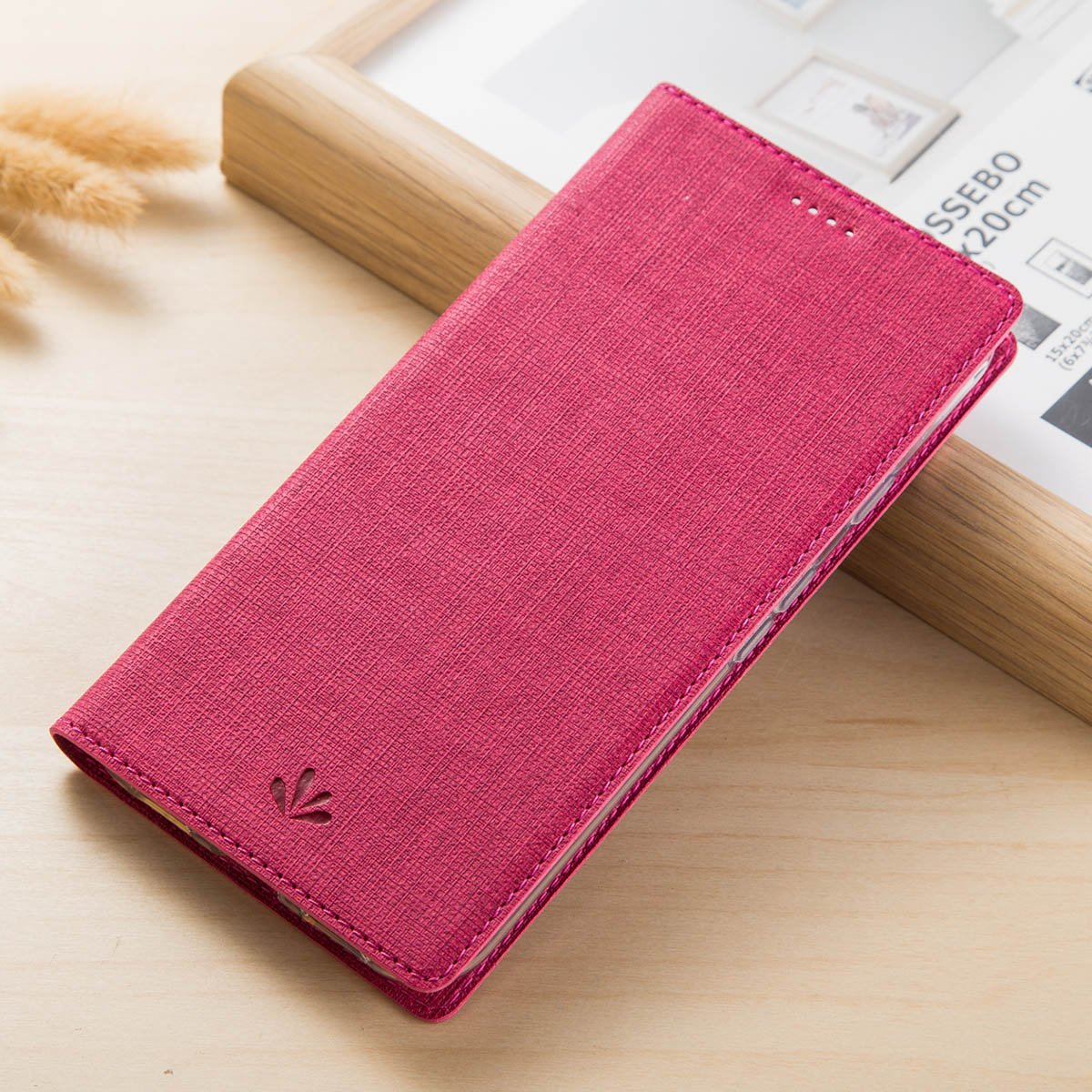Yoota Custodia Slim Folio Cover per Asus ZenFone 4 Max ZC520KL Bookstyle Flip Case Con Stand 5.2 Inch Cover ZenFone 4 Max ZC520KL Grigio