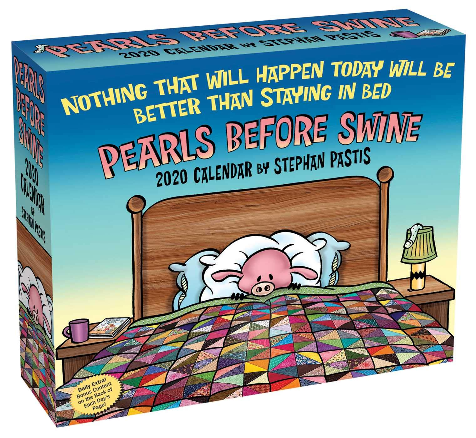 Pearls Before Swine 2020 Day To Day Calendar