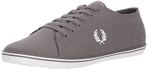 Fred Perry Kingston Twill Tipped Blanc Navy