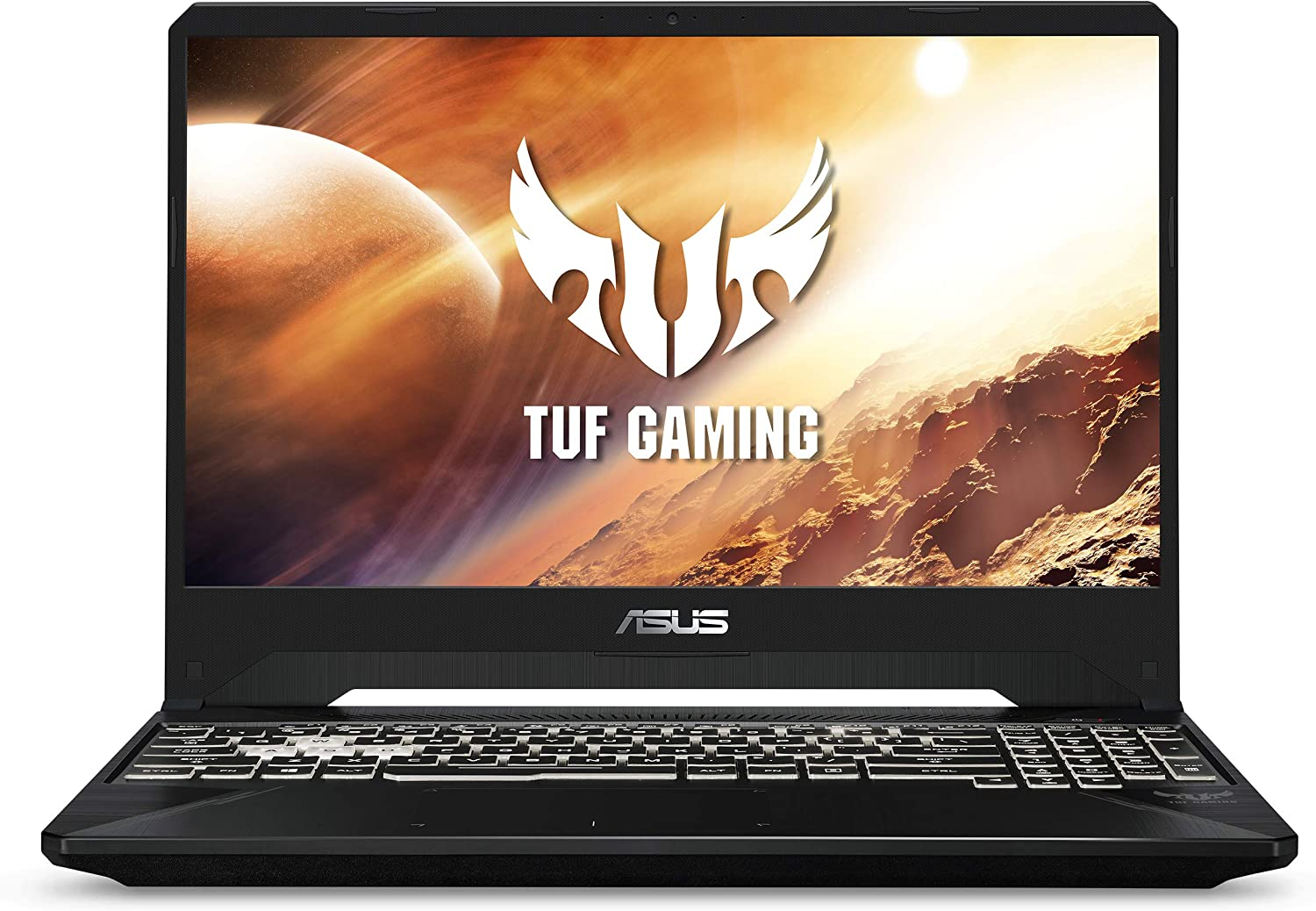 "Asus TUF Gaming Laptop, 15.6"" 120Hz FHD IPS-Type, AMD Ryzen 5-3550H, GeForce RTX 2060, 16GB DDR4, 512GB PCIe SSD, Gigabit Wi-Fi 5, Windows 10 Home, FX505DV-EH54"