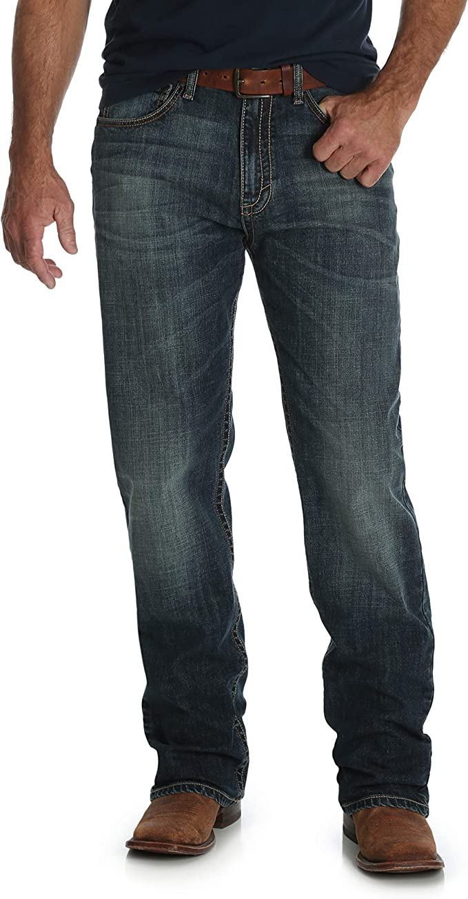 Wrangler Mens Tall Extreme Relaxed Fit FR Jean