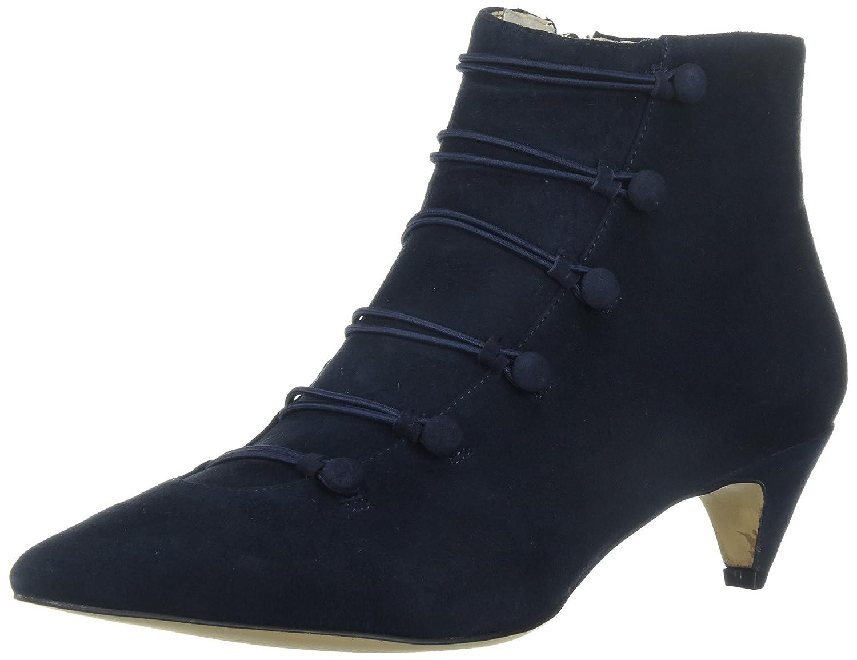 Nine West Women's Zadan Suede Ankle Boot B0719FFC3X 10.5 B(M) US|Navy