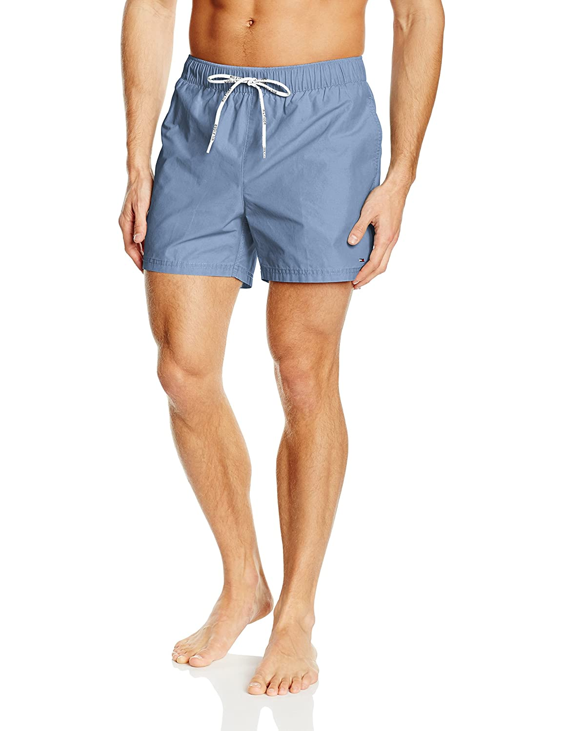 Hilfiger Denim Herren Badeshorts Solid Washed Swim Short 1