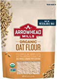 Arrowhead Mills Organic Oat Flour, 16 oz. (Pack of 6)
