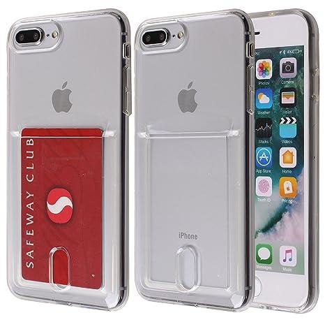 Amazon.com: iPhone 8 plus funda, maxonor Slim & fuerte Gel ...