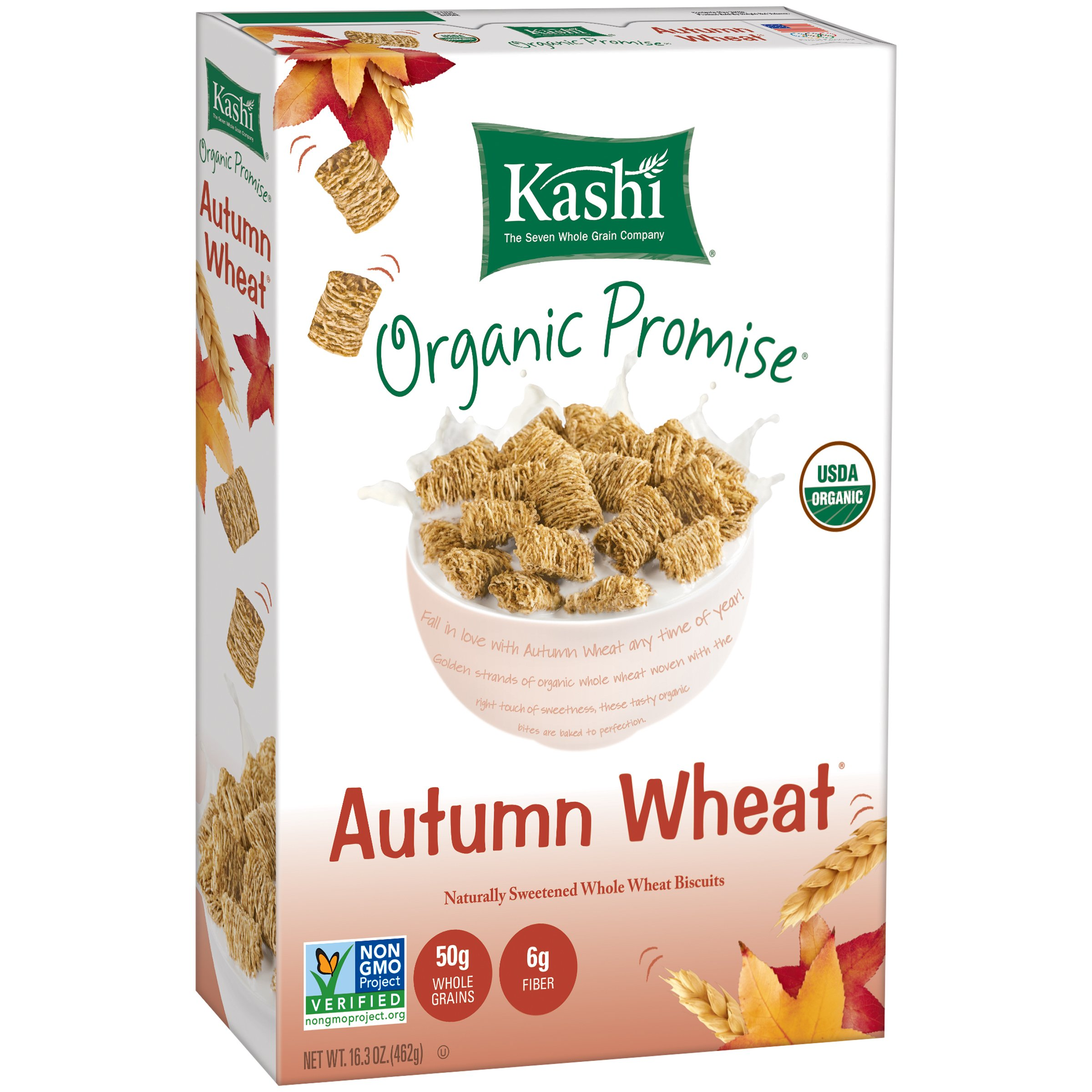 Amazon kashi organic promise cereal autumn wheat whole kashi organic promise cereal cinnamon harvest whole wheat biscuits 163 ounce boxes pack ccuart Gallery