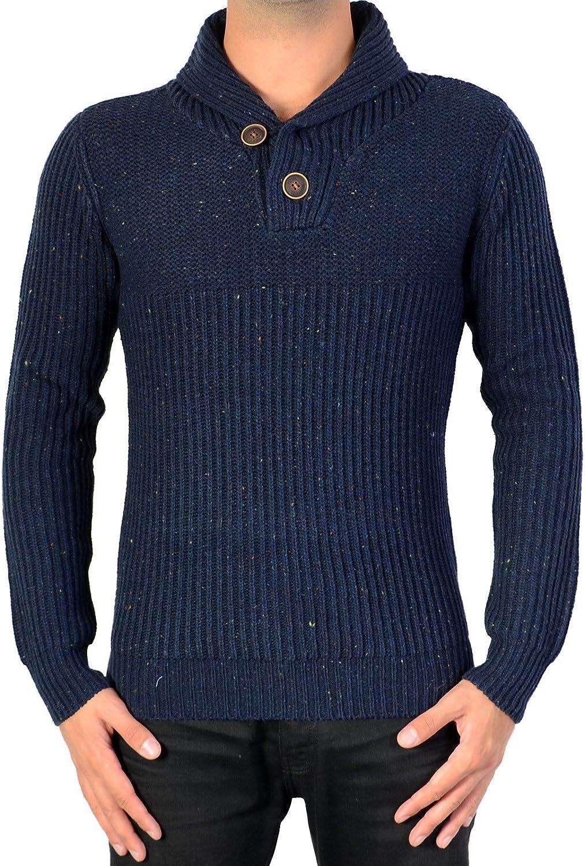 Suéter de Gasolina Industrias FW15-KWC283 591 PROFUNDO de la MARINA