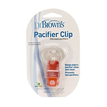Dr. Browns Pacifier Clip with Tether - Assorted