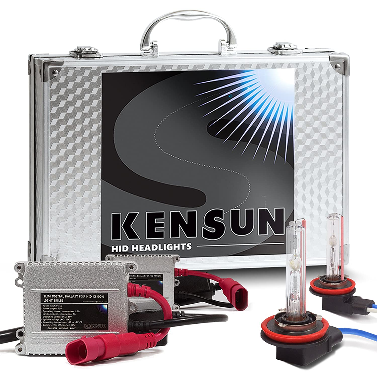 Hid Kits Lighting Conversion Automotive After Market Headlight Wiringheadlightmotorcyclepwhl22202101 Xenon Kit By Kensun H11 6000k