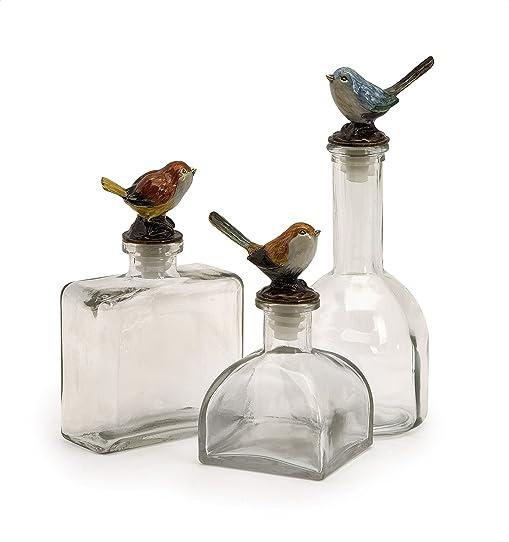 Coton Mako Transparent Meuble Sous Vasque En Verre Oiseau De