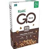 Kashi GO Chocolate Crunch Breakfast Cereal - Vegan, Non-GMO Project Verified, 12.2 Oz Box