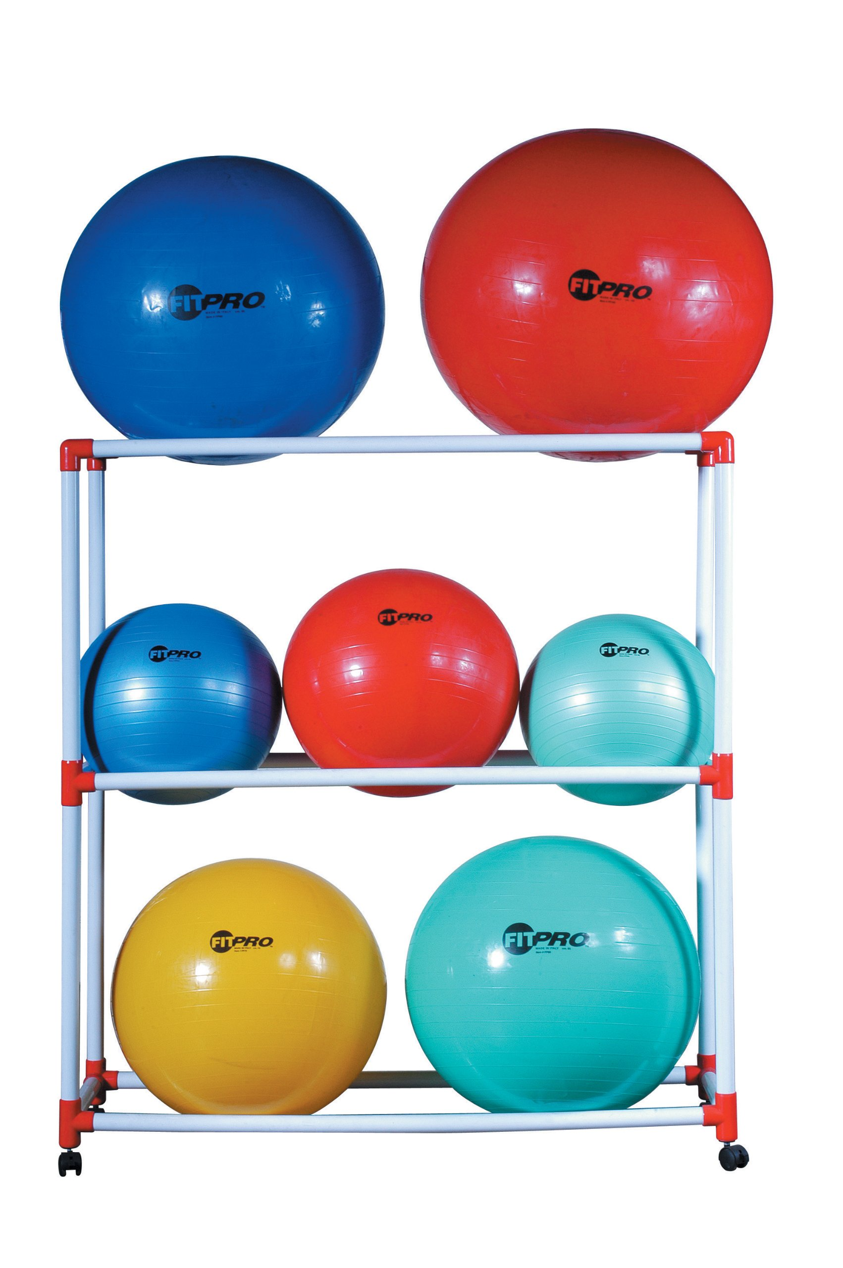Champion Sports Ball Storage Cart