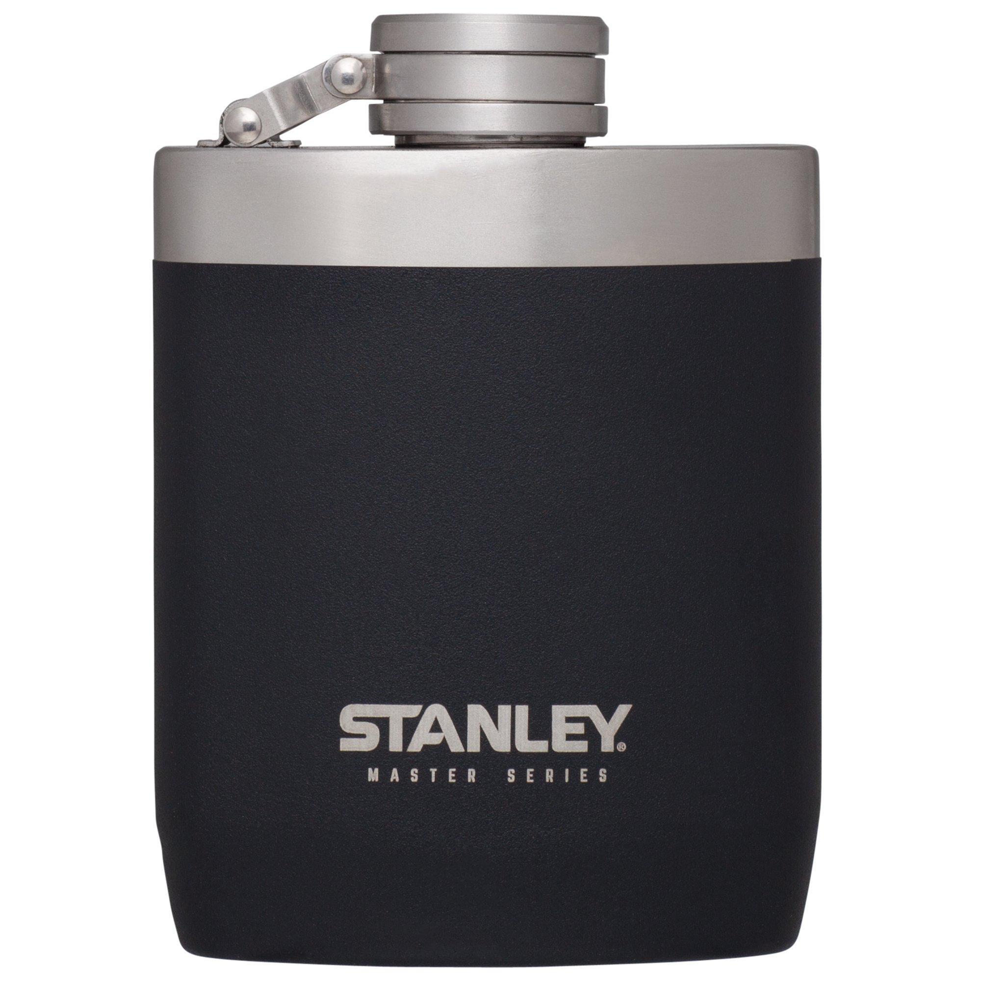 Stanley Master Flask, Foundry Black, 8 oz