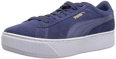Puma Vikky, Sneakers Basses Femme, Bleu (Blue Indigo White), 38 EU