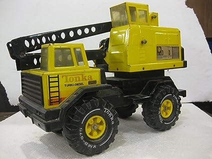 Amazon Vintage 1960s 1970s Tonka Mighty Turbo Diesel Bucket