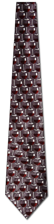 Wine Ties Wine Glasses Necktie Alcohol Tie Mens Necktie