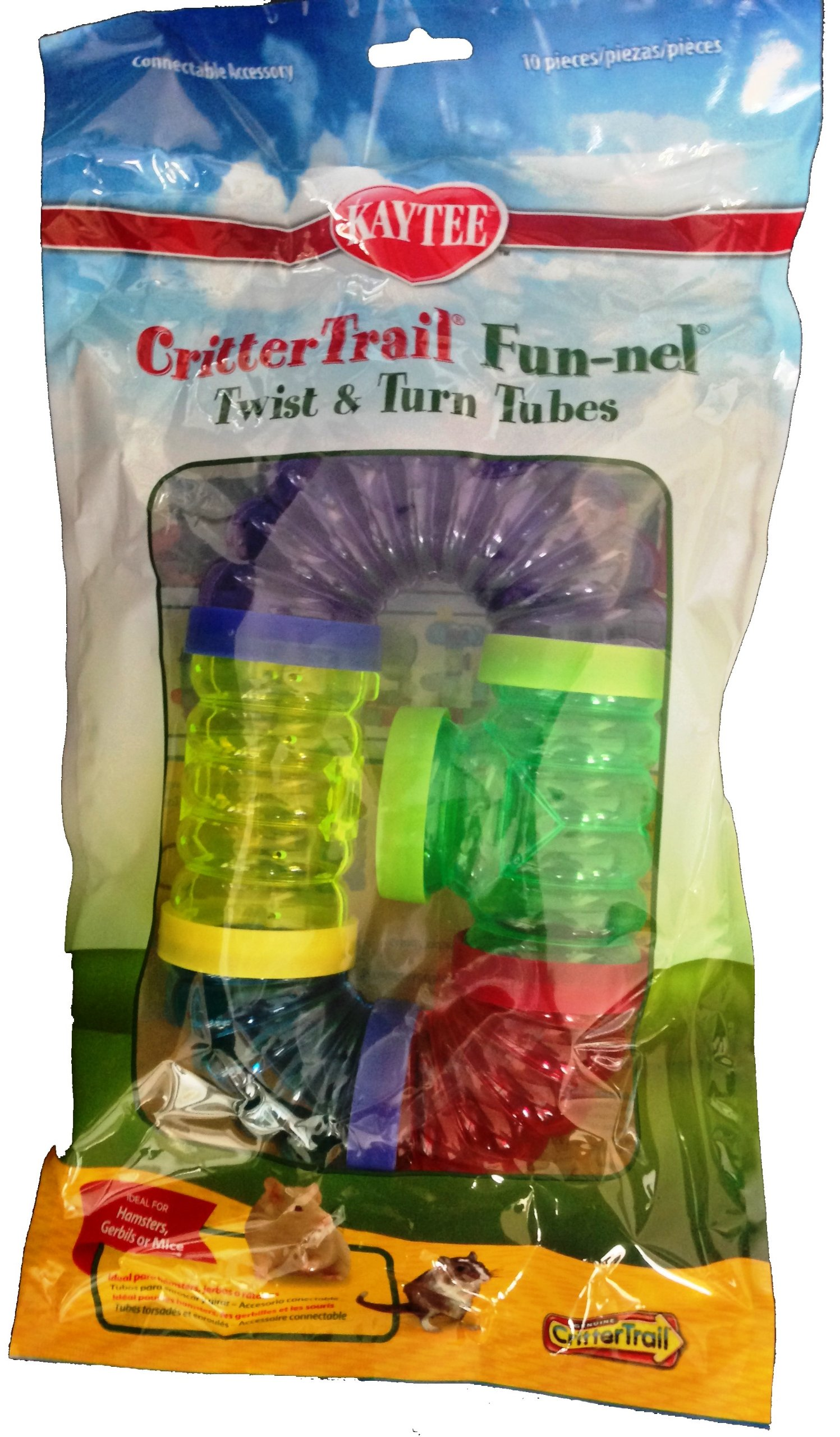 Kaytee CritterTrail Fun Twist and Turn Value Pack, Colors Vary by Kaytee (Image #5)