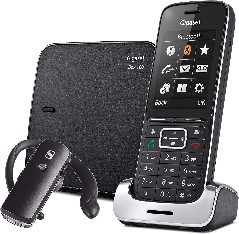 Gigaset SL450 - Teléfono inalámbrico con auricular Bluetooth - pantalla en color - manos libres
