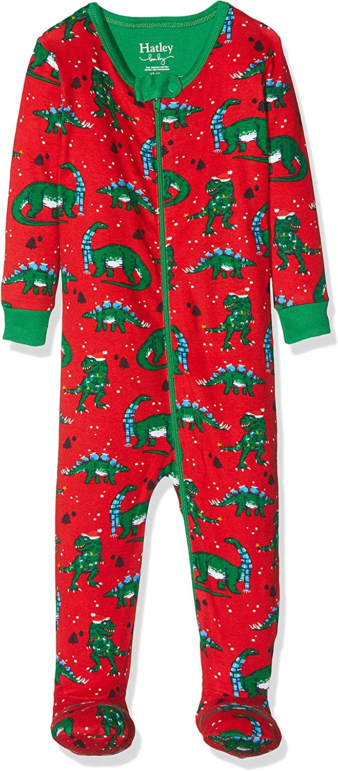 Hatley Organic Cotton Footed Sleepsuit Pyjama B/éb/é Fille