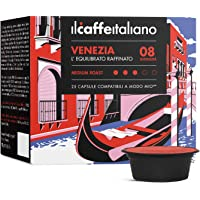 Lavazza A Modo Mio 100 compatible Capsule - Il Caffè Italiano - Blend Venetië Intensity 8