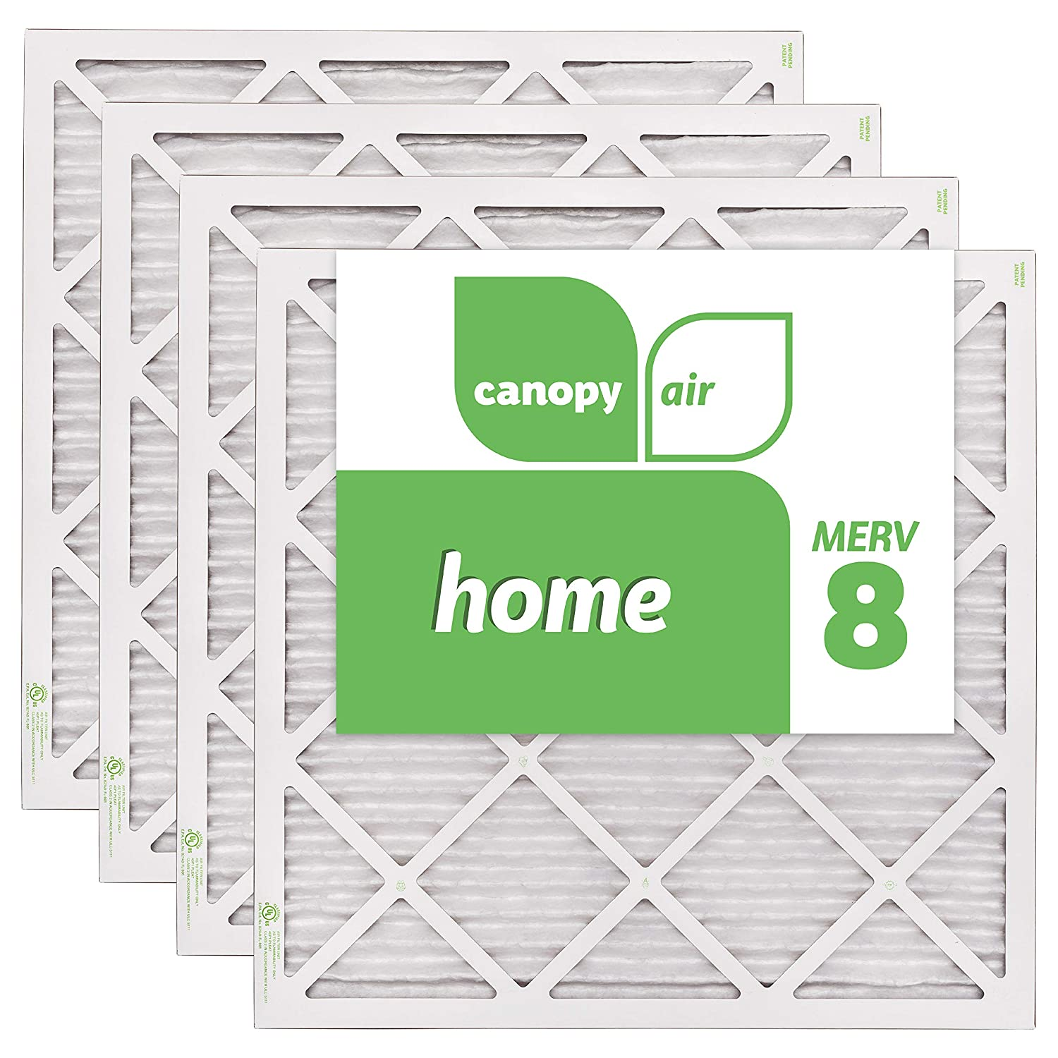 3. Canopy Air MERV 8 - EZ Flow Air Filter 20x20x1