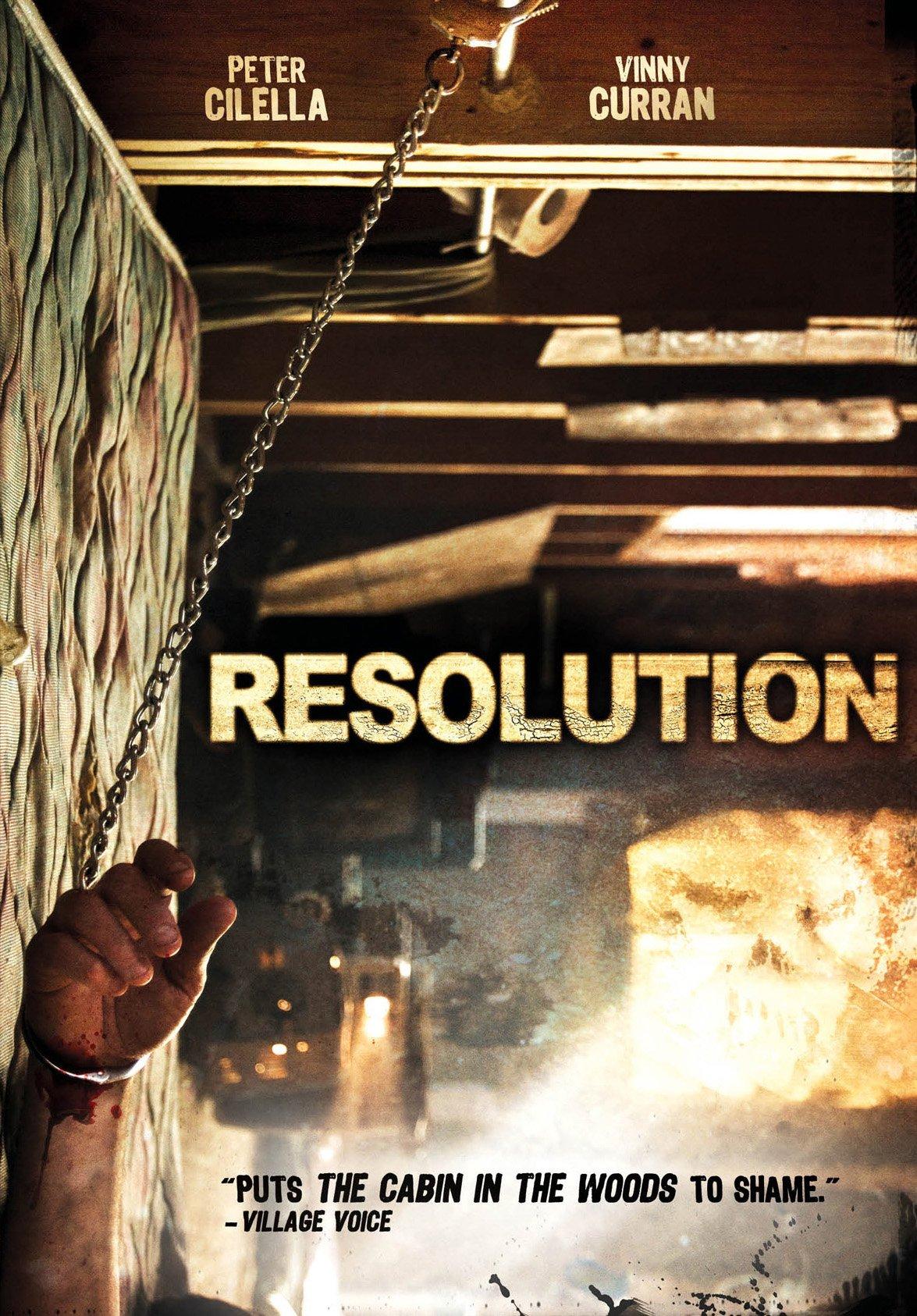 DVD : Resolution (DVD)