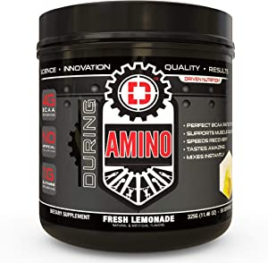 Driven Amino-BCAA Enhanced with Glutamine- Aids in Muscle Recovery, Increase Muscle Protein Synthesis, and Improve Lean Body Mass-Perfect 2:1:1 BCAA Ratio (Fresh Lemonade)