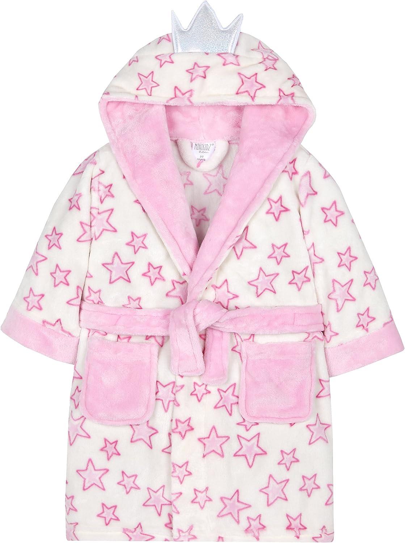 Baby Girls Disney Frozen Soft Plush Snuggly Dressing Gown//Bath Robe ~ 2-3 Years