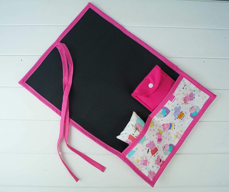 Pizarra portátil enrollable de tela Peppa Pig: Amazon.es: Handmade