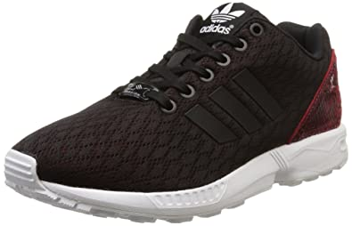 Damen Sneaker Low adidas Originals ZX Flux smooth grau Schuhe