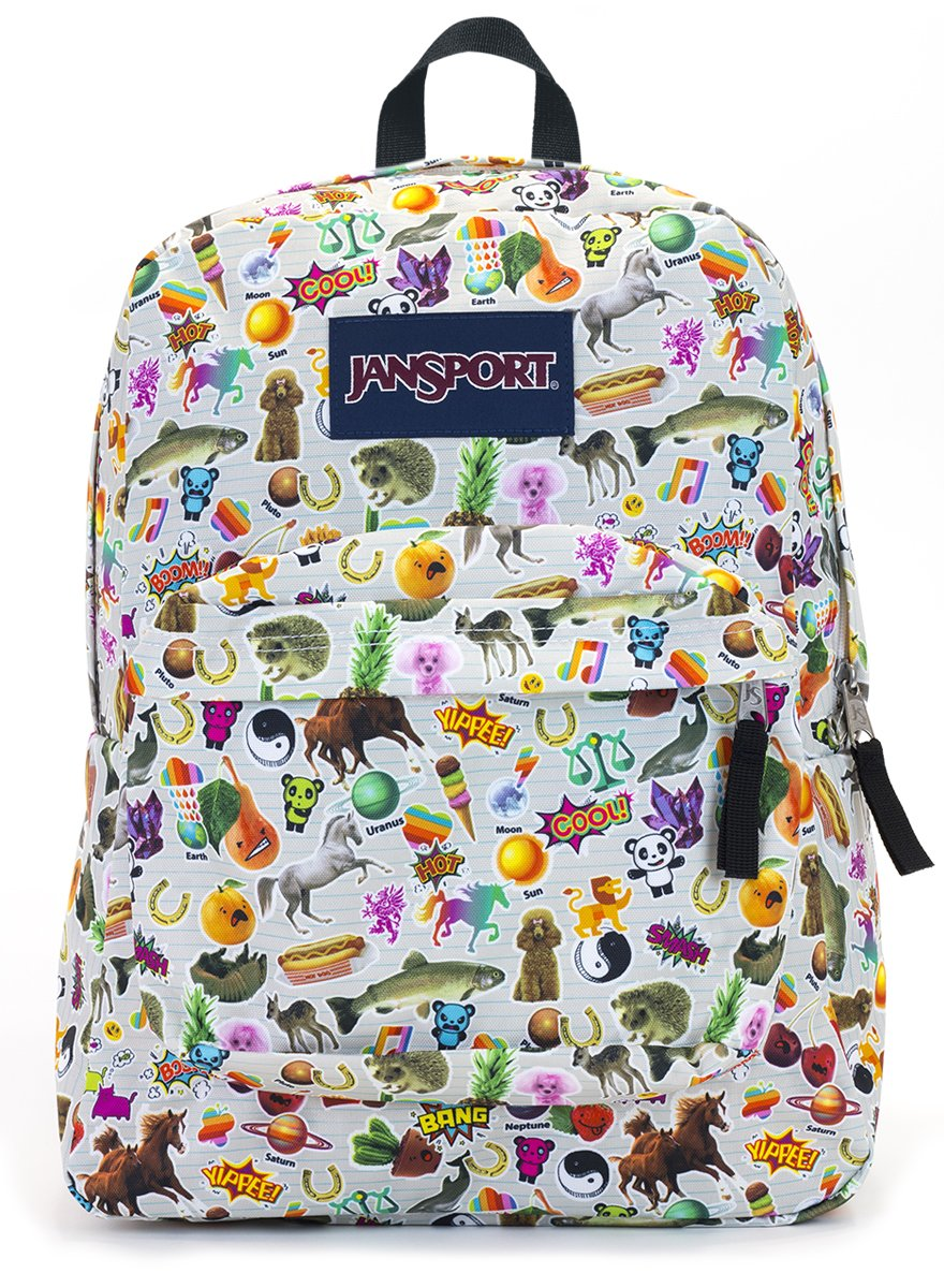 Jansport Backpack Superbreak School Backpack Original Select Color (Black)