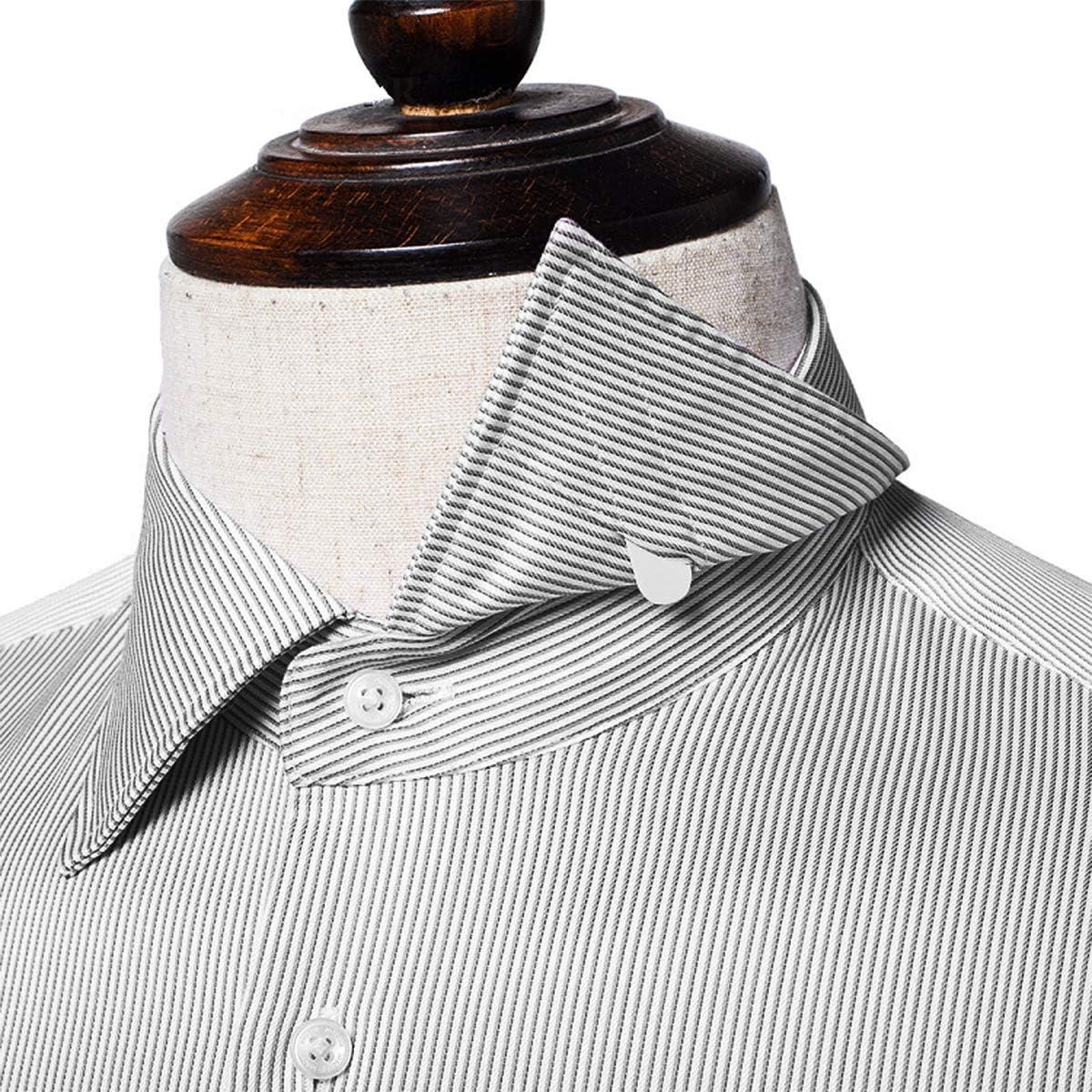 VORCOOL el cuello blanco plástico lo demás des os raidisseurs para camisa habillée para caballero en 3 tamaños – 200pcs: Amazon.es: Hogar
