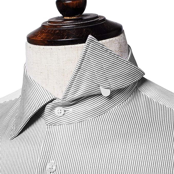 VORCOOL 200 Piezas de Cuello Blanco de plástico para los Huesos de Camisas Refuerzos en 3 tamaños